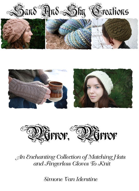 Mirror, Mirror: An Enchanting Collection Of Matching Hats And Fingerless Gloves To Knit - Ebook
