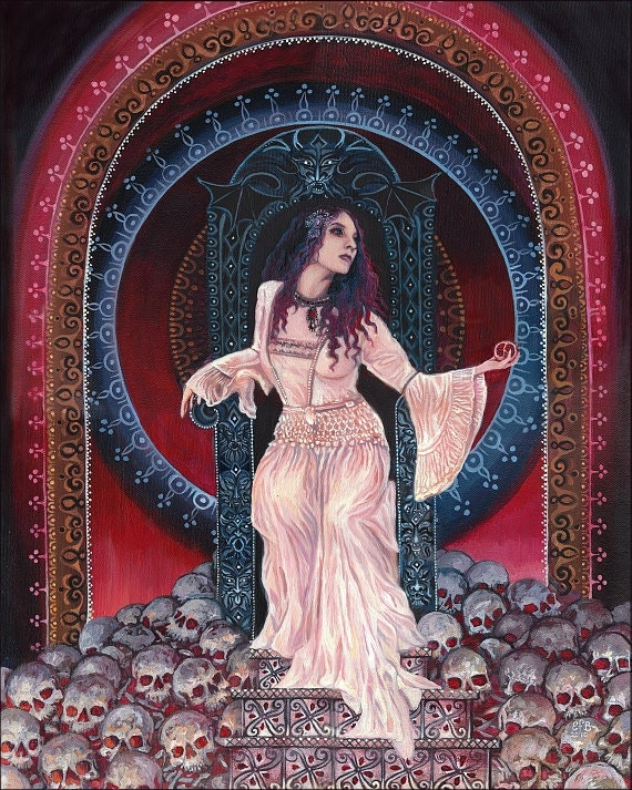 Persephone - Queen of the Underworld 16x20 Poster Print