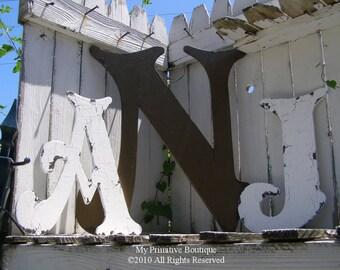 WOODEN LETTERS   Wooden Letter Sale   Wall Art   Letter Art   Typography   Large Wooden Letters   Wooden Monogram   Rustic Wooden Letters