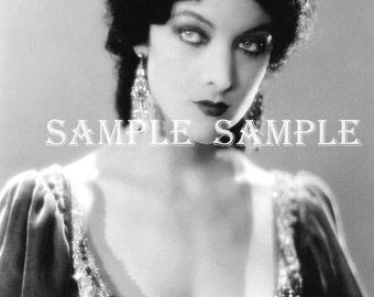no551 VINTAGE photo - Instant DIGITAL DOWNLOAD - Gypsy Princess Antique Art Print Printable - Antique Photograph - Victorian Beautiful Woman