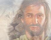 Jesus Christ card Lion of Judah Christian notecard inspirational greeting encouragement sympathy Easter religious