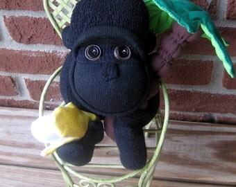 Sock Monkey Gorilla PDF Pattern & Tutorial
