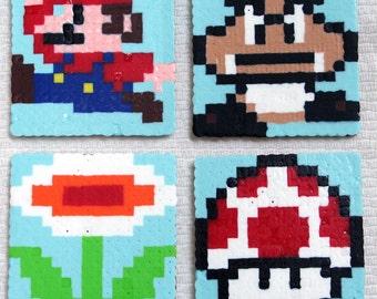 8-Bit Mario Coasters