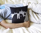 Decorative Pillow Mid Century Modern Ad Man Pillow