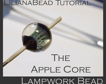 LilianaBead Tutorial - The Apple Core Design -  Lampwork Bead