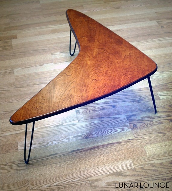 Booma Mid coffee table  Eames Era  Mid Century Modern Atomic Design