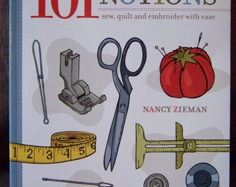 Sewing Book - learn to sew, quilt, and embroider - By Nancy Zieman - new