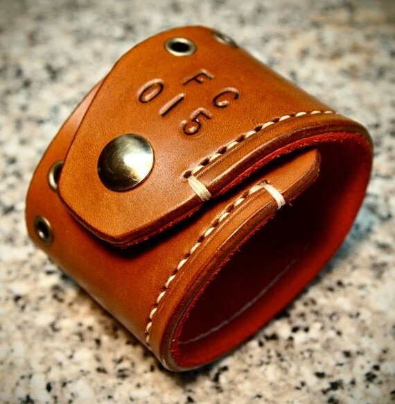 Leather Cuff Bracelet Brown Tan hand made Red Suede lined aged brass hardware handmade for YOU in NYC by Freddie Matara!
