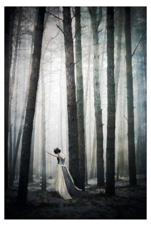 The Queen, Fantasy Art Print