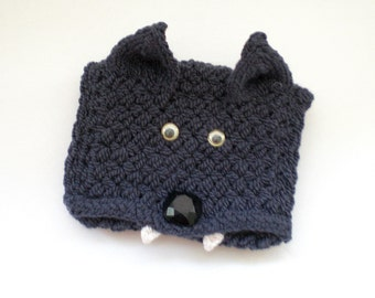 Hand Knit Glove and Wrist Cuff Wallet / Cuff Pocket (to carry id, badges, mp3, iPod, etc) Gray Wolf