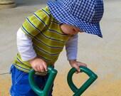 PDF sewing patterns for children - Girls Boys Sun Hat Pattern Downloadable