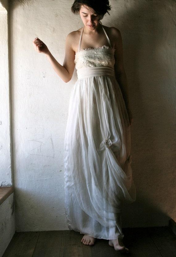 Wedding dress, Hippie wedding dress, Boho Wedding dress, Beach wedding dress, Rustic wedding dress, Plus size dress, 1920s Wedding dress