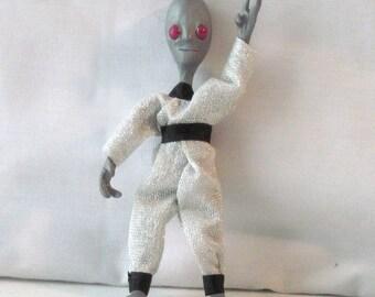 Miniature OOAK  Alien doll