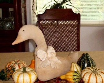 Thanksgiving  Goose Decoration Sewing Pattern  PDF  Instant Download