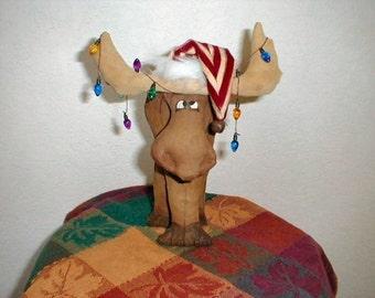 Christmas  Moose Mooseltoe PDF Sewing Pattern  Instant Download