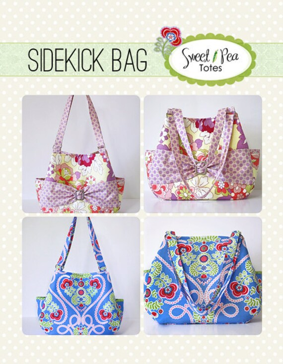 Sidekick Bag ebook PDF Sewing Pattern / Sweet Pea Totes