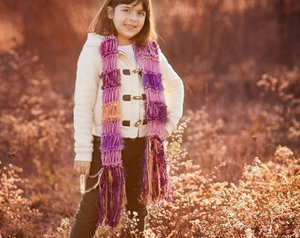 Young Girls Scarf Fashion Clothing Accessories for Children - Any Colors