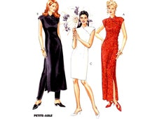 Cheongsam bridesmaid dress brides wedding gown pants sewing pattern McCalls 7412 Size 10 to 14 Uncut Asian style