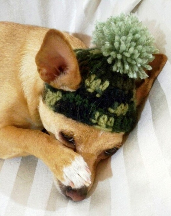 Dog Ducky Dynasty Camo Camouflage Hat crocheted Army by ...