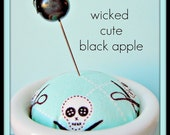 Wicked Cute Black Apple Pin Topper