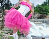Ultra Tutu skirt Pink Ring Master adult huge poofy carnival dance costume bridal wedding princess  - You Choose Size - Sisters of the Moon