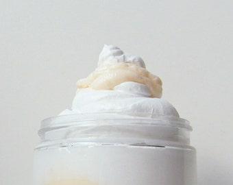 Orange Cream Soap, Orange La Creme Whipped Soap, Parfait Soap, Body Washes, Large 8 oz Soap in a Jar, by fairybubbles