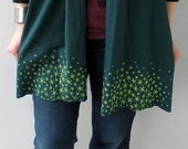 Black Friday SALE Green Star Moss Scarf, gift for her, christmas stocking stuffer, scarves, gifts for women, girlfriend gift for teen