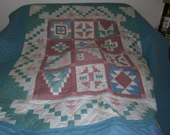 Priced To Sell - TODAY ONLY - Southwestern Trail Abstract Quilt