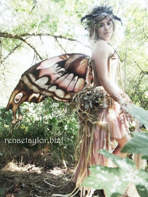Custom Faerie / Butterfly Wings  (Extra Large) By Renae Taylor