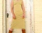 Apple Blossom ~ V-Neck Dress ~ Bamboo & Organic Cotton ~ Made to Order