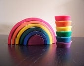 Waldorf Modelling Beeswax - Rainbow Set in Tins