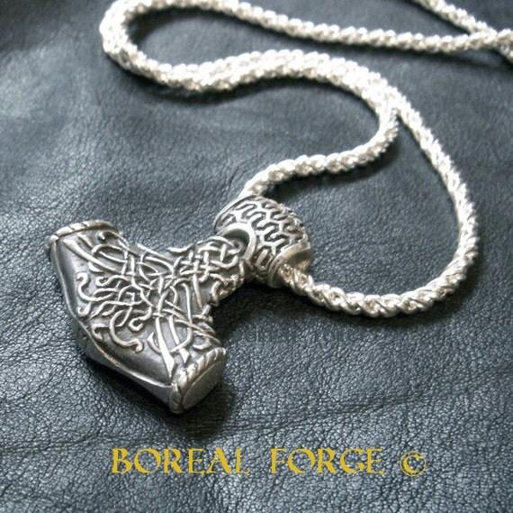 "Thor's Hammer Pendant - Mk II ""Fenris"""
