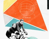 Bicycle No2: Collage Poster 11x17 inches