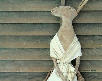 Early Homestead Rabbit Pattern from Raven's Haven