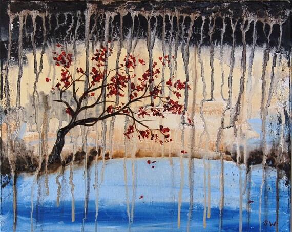 Ripple in Still Water Original Painting SALE