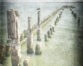 Sea pier, Ocean photography, sea theme decor, ocean print, ocean decor, beach wall decor, sea decor, nautical decor,ocean wall decor