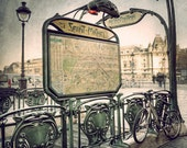 Paris Photography, Paris decor, Subway signs, Travel photography, Paris metro - PhotographyDream