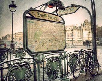 Paris photography, Paris Metro decor, Travel photography, Parsian decor, Paris map, Parisian decor, Paris decor,  Metro Paris