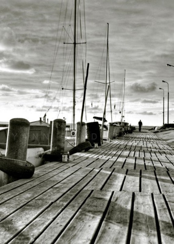 Black and white photography, Seascape wall decor, Travel decor, Nautical photography, Ocean photography, Black and white art
