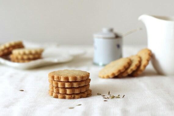 Olive Oil Shortbread Cookies, Tea Cookies