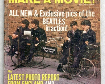 FREE SHIPPING 1964 The Beatles Make A Movie