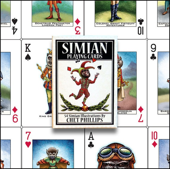 Simian Playing Card Set