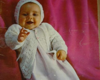 Nursery Styles Baby Pattern Book by Beehive Patons patterns number 111