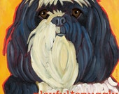Havanese No. 1 - Set of 6 blank notecards with coordinating envelopes