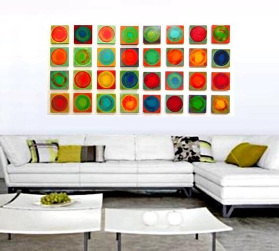 Abstract Wall Sculpture | Wood Wall Sculpture Modern Wall Art | Painted Wood Blocks | Living Room Decor | by Rosemary Pierce | sku#DC33003