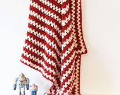 Lambswool Crochet Blanket (No1)