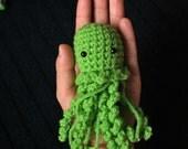 Jellyfish Amigurumi Crochet Stuffed Animal - Choose any color