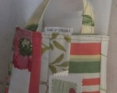 Completely Gift Wrapped in a Bag in repurposed Fabrics Custom orders