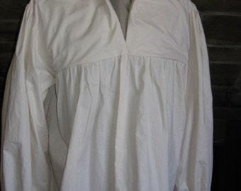 Custom renaissance medieval tudor pirate shirt chemise