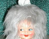 Miss Tissue Head . Retro Doll Face Tissue Box Cover ~ Custom Made to Order